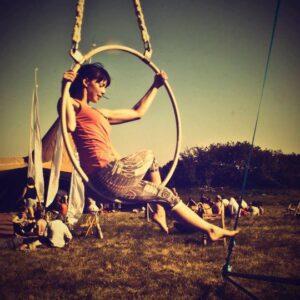 Aerial Hoop Course